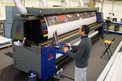 Large format HP Printer
