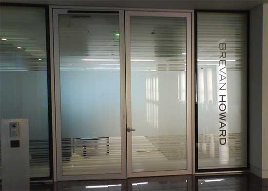 Vinyl Window Glazing : Window manifestations retail display graphics